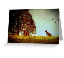 All in the moonlight pale ... Greeting Card