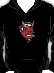 Retro devil head geek funny nerd T-Shirt