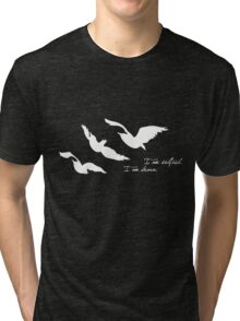 Divergent - Selfish & Brave Ravens Tattoo Tri-blend T-Shirt