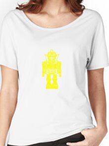 Retro robot geek funny nerd Women's Relaxed Fit T-Shirt