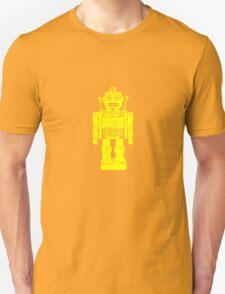 Retro robot geek funny nerd T-Shirt