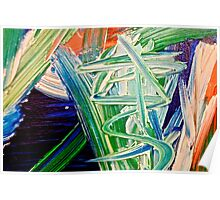 Abstract Painting by Scott Johnson ... Poster