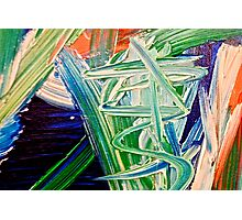 Abstract Painting by Scott Johnson ... Photographic Print