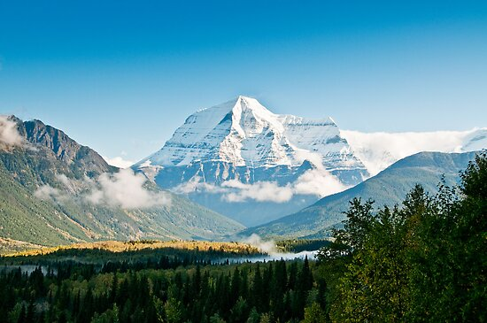 Mt Robson by traveller