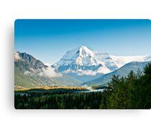 Mt Robson Canvas Print