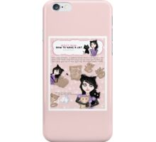HERE'S HOW: HOW TO MAKE A CAT iPhone Case/Skin