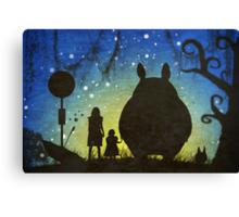 Small Spirits (Totoro) Canvas Print