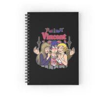 Vincent Double Digest Spiral Notebook