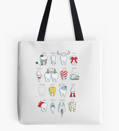 Dental Definitions Tote Bag