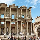 Ruins of Ephesus, Turkey by Deb Gibbons