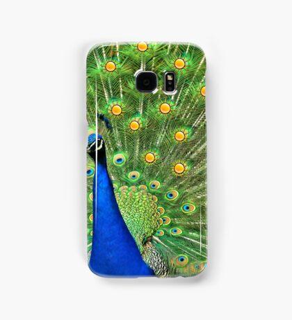Sun peacock Samsung Galaxy Case/Skin
