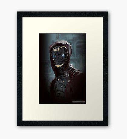 Alien Warrior Framed Print