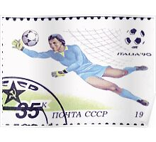1990 FIFA World Cup stamps of the Soviet Union‎ 1990 CPA 6212 USSR Poster