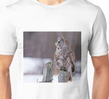 Great Grey Owl - Dunrobin, Ontario Unisex T-Shirt