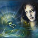 Dragonfly Dreamtime by Katia Honour