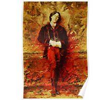 Oscar Wilde by John Springfield Poster
