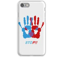 Hands color iPhone Case/Skin