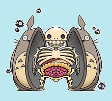 Inside Totoro by crabro