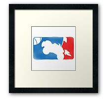 MAJOR LEAGUE ROCKET Framed Print