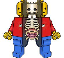 Lego Man Dissected by crabro