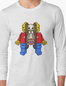 Lego Man Dissected Long Sleeve T-Shirt