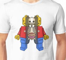 Lego Man Dissected Unisex T-Shirt