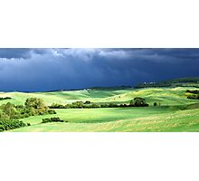 Storm Over Siena-Siena, Itlay Photographic Print