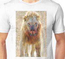 Majingilane - Male Lion - Hyena Intimidation Unisex T-Shirt