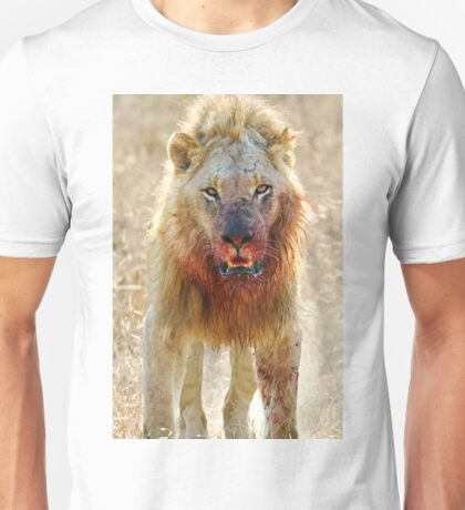 Majingilane - Male Lion - Hyena Intimidation T-Shirt