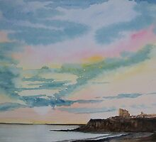 Priory Castle..Tynemouth by Alan Harris
