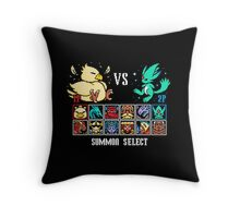 SUMMON FIGHTER Throw Pillow