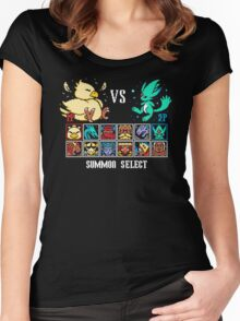 SUMMON FIGHTER Women's Fitted Scoop T-Shirt
