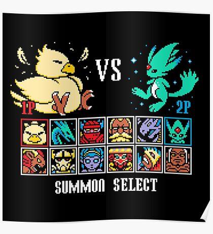SUMMON FIGHTER Poster