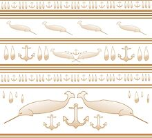 Gnarwhal Pattern by BHaynes