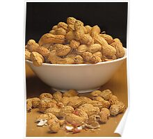 Bowl of Peanuts Poster