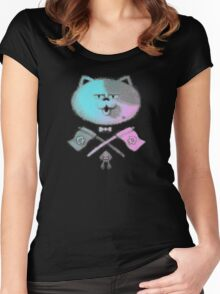 JUDD THE CAT Women's Fitted Scoop T-Shirt