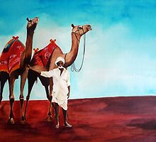 Camel Man by shagufta