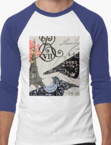 Ooh La La Paris Men's Baseball ¾ T-Shirt