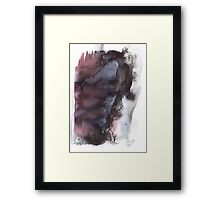 Departing soul Framed Print