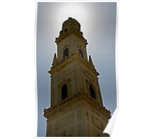 Church in Lecce, Italy Poster