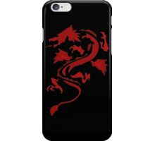 Fire Breathing Dragon - red iPhone Case/Skin
