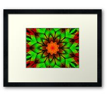 Summer Flower Art-Available As Art Prints-Mugs,Cases,Duvets,T Shirts,Stickers,etc Framed Print