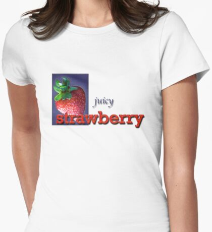 Juicy Womens Fitted T-Shirt