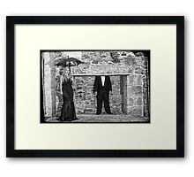 The Black Widow Framed Print