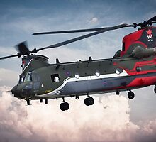 Centenary Chinook by J Biggadike
