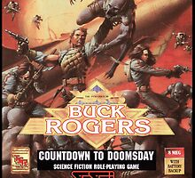 Buck Rogers Mega Drive Cover by TWMTees
