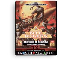 Buck Rogers Mega Drive Cover Canvas Print