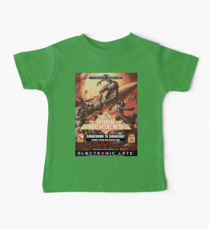 Buck Rogers Mega Drive Cover Baby Tee