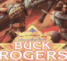 Buck Rogers Mega Drive Cover Sticker