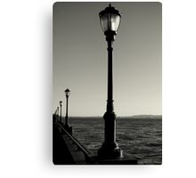 Lamp Posts Canvas Print